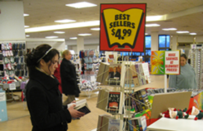 Berri Books with Best Seller book stand